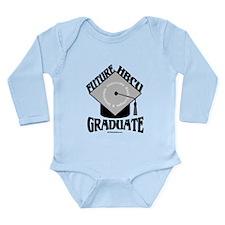 Cute Hbcu Long Sleeve Infant Bodysuit