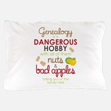Genealogy Nuts Pillow Case