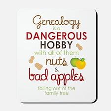 Genealogy Nuts Mousepad