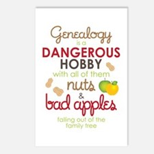 Genealogy Nuts Postcards (Package of 8)