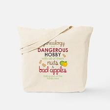 Genealogy Nuts Tote Bag