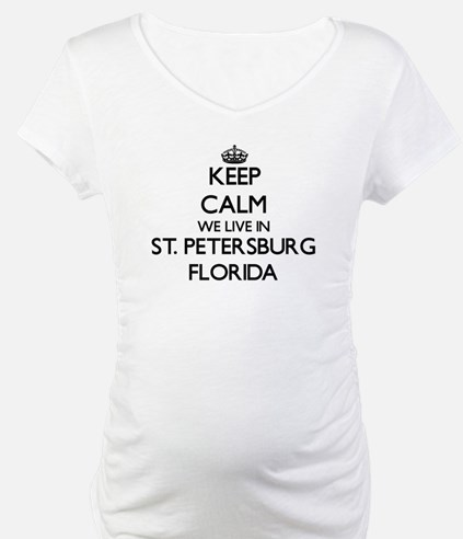 Keep calm we live in St. Petersb Shirt