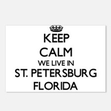 Keep calm we live in St. Postcards (Package of 8)