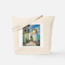 Ten Commandments - Bear False Tote Bag