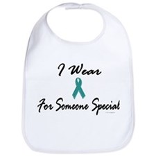 I Wear Teal For Someone Special 1 Bib