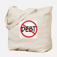 No Debt Tote Bag