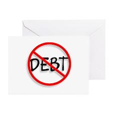 No Debt Greeting Cards (Pk of 10)