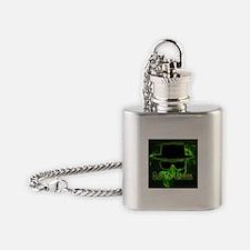 Let's Cook Black Flask Necklace