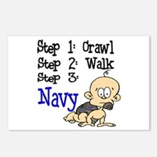 USN Baby Postcards (Package of 8)