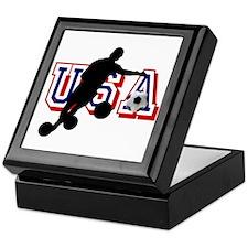 USA Soccer Player Keepsake Box