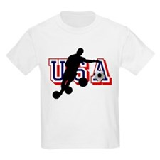 USA Soccer Player T-Shirt