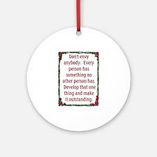 DON'T ENVY Ornament (Round)