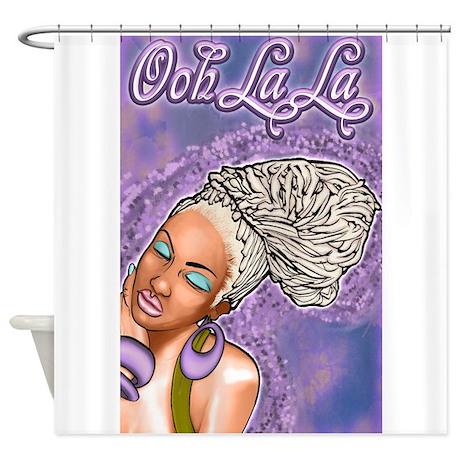 Ooh La La Shower Curtain By MarkEdgertt