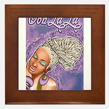 Ooh La La Framed Tile