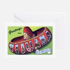 Tijuana Mexico Greetings Greeting Cards (Package o