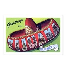 Tijuana Mexico Greetings Postcards (Package of 8)