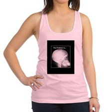 foot in mouth xray Racerback Tank Top