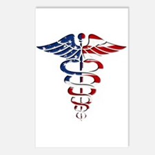 American Caduceus Postcards (Package of 8)