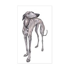 Olive the Whippet Decal