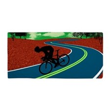 Cute Bike Beach Towel