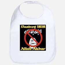 Destroy ISIS No Symbol Allah Akbar Bib