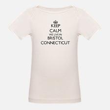Keep calm we live in Bristol Connecticut T-Shirt