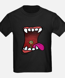 Mouth with Fuzzy T-Shirt