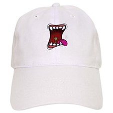Mouth with Fuzzy Baseball Cap