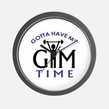 Gotta Have My Gym Time Wall Clock