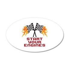 START YOUR ENGINES Wall Decal