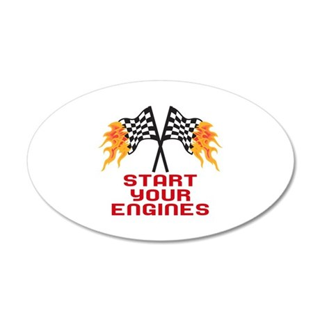 start your engines wall decal by greatnotions24. Black Bedroom Furniture Sets. Home Design Ideas