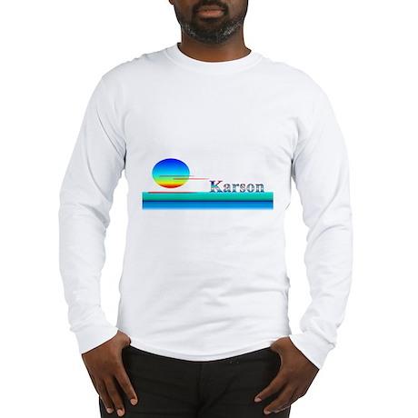Karson Long Sleeve T-Shirt