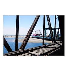 Beach Ferris Wheel Postcards (Package of 8)