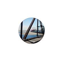 Beach Ferris Wheel Mini Button