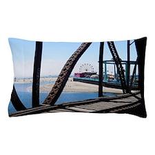 Beach Ferris Wheel Pillow Case