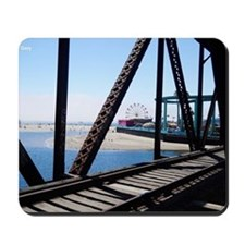 Beach Ferris Wheel Mousepad