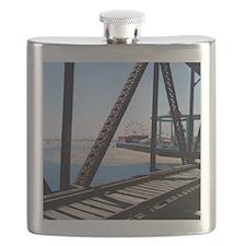 Beach Ferris Wheel Flask