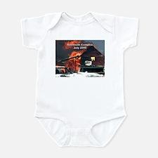 Sawtooth Fire in Pioneertown Infant Bodysuit