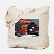 Sawtooth Fire in Pioneertown Tote Bag