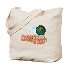Coco Beach , Protect sea Turt Tote Bag