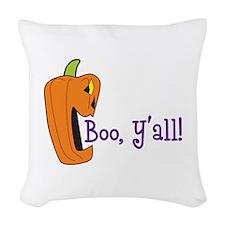 BOO YALL Woven Throw Pillow