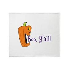 BOO YALL Throw Blanket