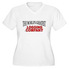 """The World's Greatest Logging Company"" T-Shirt"
