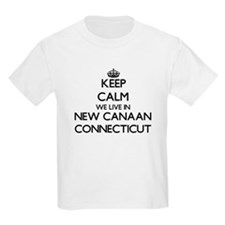 Keep calm we live in New Canaan T-Shirt