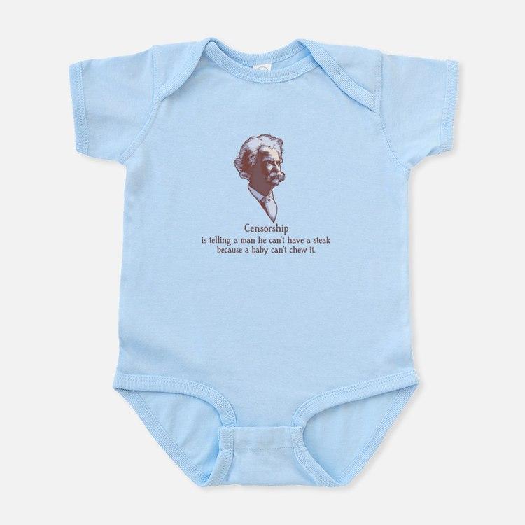 Twain - Censorship Infant Bodysuit