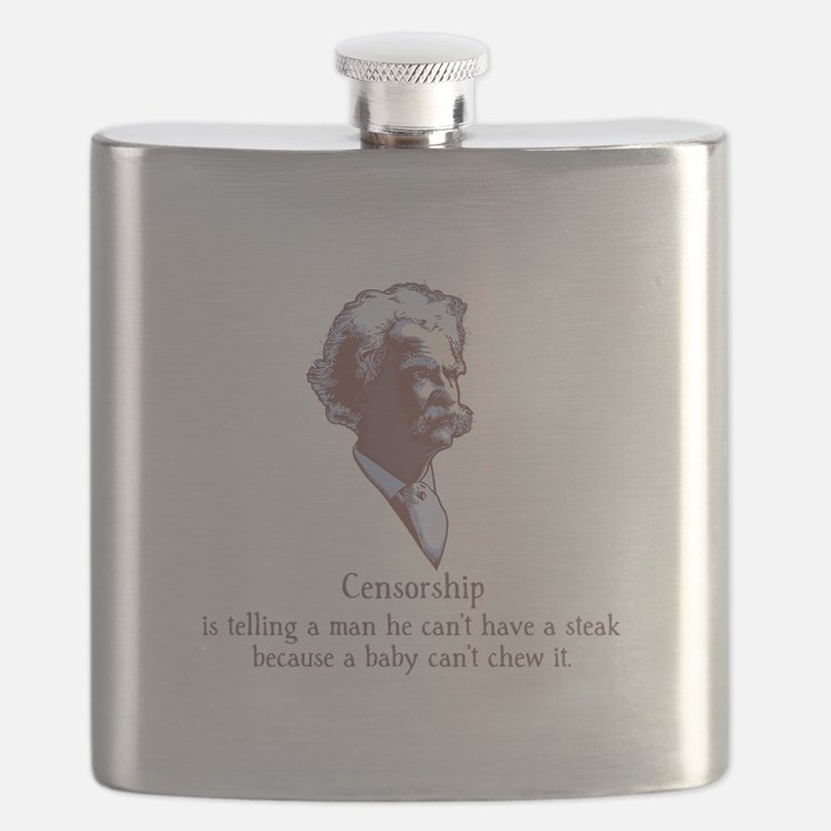 Twain - Censorship Flask