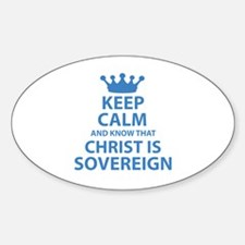 Funny Covenant Sticker (Oval)
