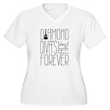Diamond Diva's Are Forever! Plus Size T-Shirt
