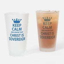 Cute Calvinism Drinking Glass