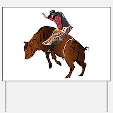 Cowboy - Bull Rider NO Text Yard Sign